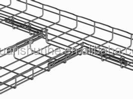 Wire mesh Cable tray for support system