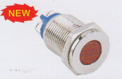 car LED indicator illumination with red signal lamp passed ROHS certification