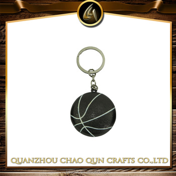 Custom metal basketball keyring bottle opener for keyring