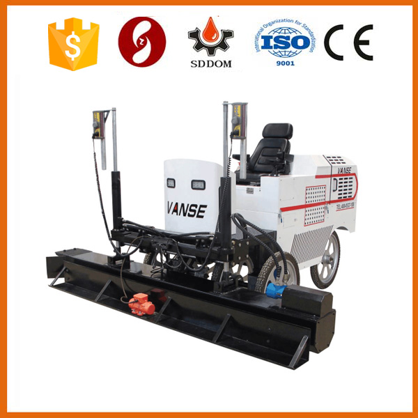 2015 new type ride-on concrete laser screed,surface finishing machine
