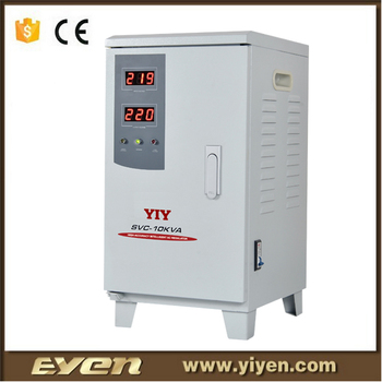 Svc Single Phase Voltage Stabilizer 10 Kva Ac To Ac