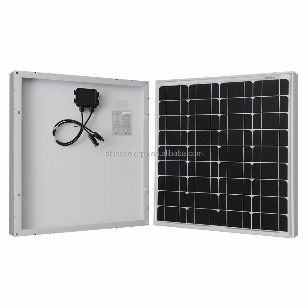 Competitive Price 50W Small PV Solar Panel 50w 18v Solar Panel For LED Light