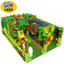 Indoor soft play equipment jungle gym for kids