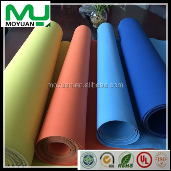 High elasticity colorful eva foam sheet/EVA PE foam/EVA ROLL