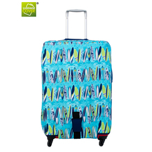 2015 Environment lightweight new design travel luggage trolley bag protective luggage cover for men and women