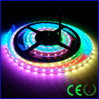 5050 rgb strip 60ic 60leds full color outdoor christmas ribbon
