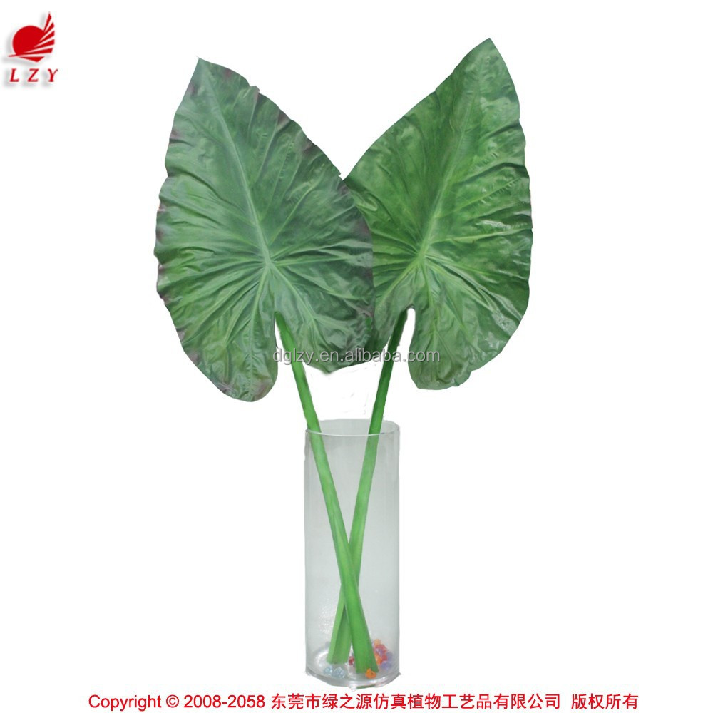 Wholesale artificial palm tree leaves big leaves for for Artificial leaves for decoration