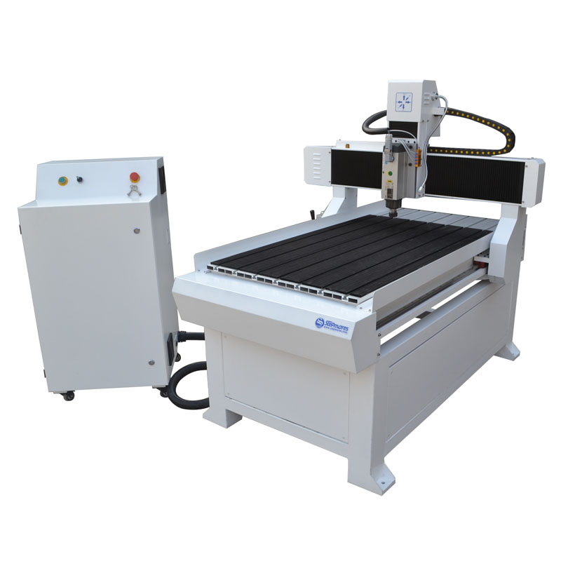 Customized wided porch structure servo motor 3d wood cnc router machine price 700x1200mm