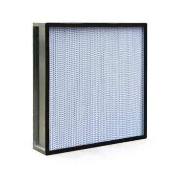 H13 H14 Light Weight Mini Pleat Industrial Hepa Air Filters for Laminar Air Flow