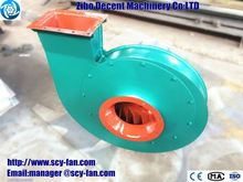 Centrifugal fan for Brick kiln with cyclone dust extractor