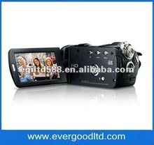 "3.5"" touch screen digital camcorder with 12xoptical zoom and remote control,high definition(HD-1300)"