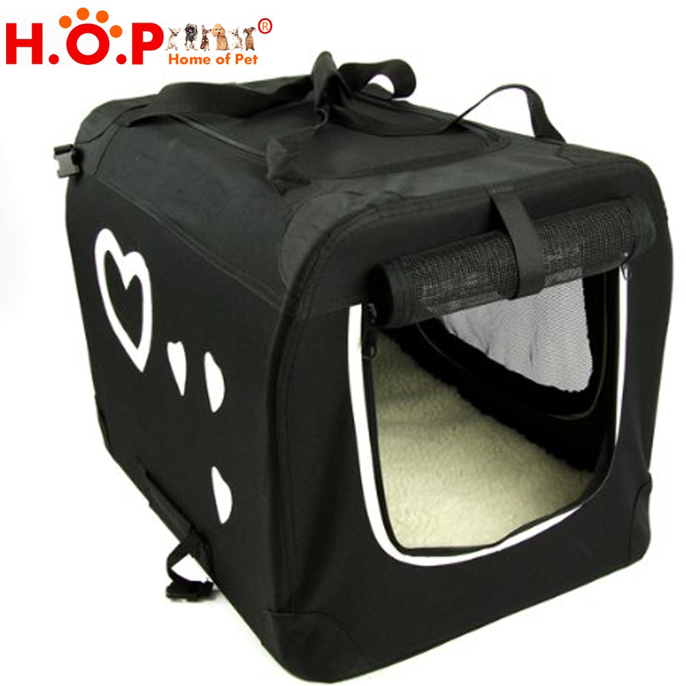 Designed Foldable Washable Travel Pet Carrier Pet Steel Tube Package Carrier Fashion Outdoor Pet Carrier