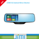 JIMI Factory Rearview mirror monitor5 inch CAR DVR automatic Parking assitance /emergency video monitoring lock rear view mirror