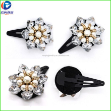 Renqing Jewelry Factory America popular gorgeous crystal bow hair claw