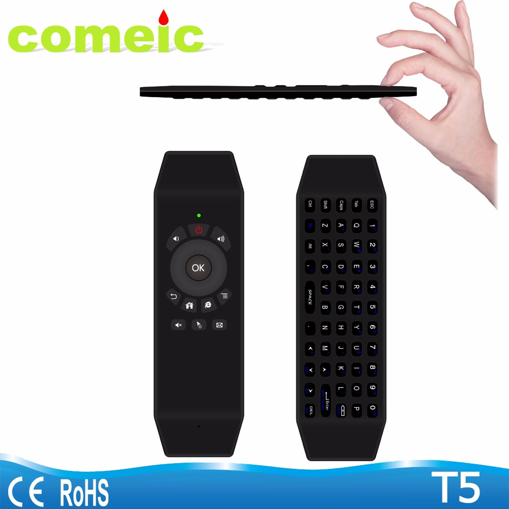 T5 air mouse android remote control for smart tv