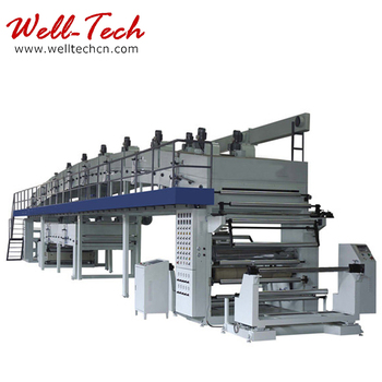 PET with release silicone coating machine