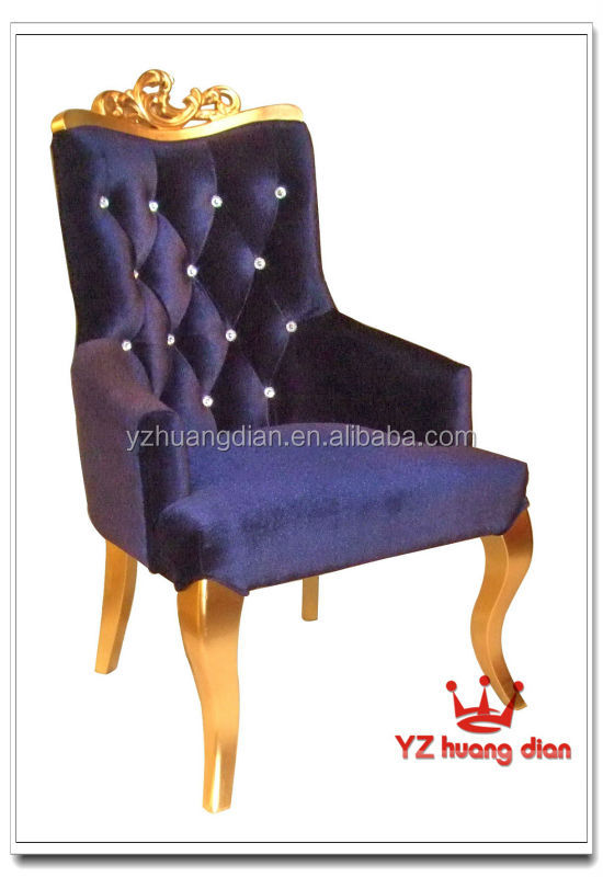 Chesterfield High Back Diamond Button Dining Room Chairs