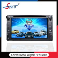 2 din GPS car DVD player with Windows ce 6.0 Universal