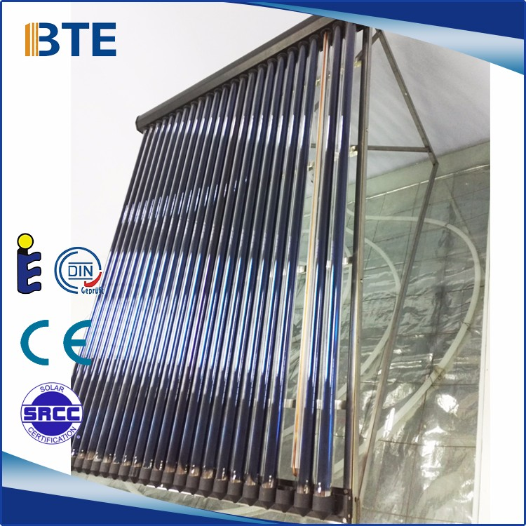 U pipe solar collectors for solar water heater