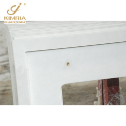 Popular Artificial White Quartz Stone Vanity Top