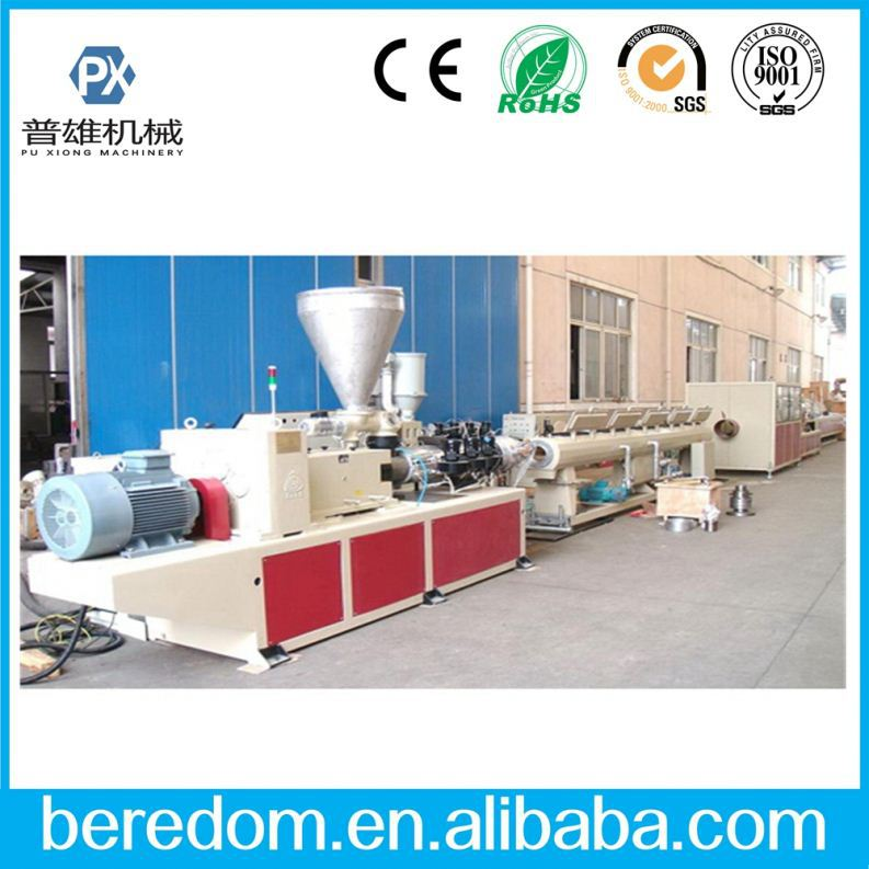 20% Price Cut Off!! Plastic To Diesel Corrugated Construction Pipe Machine