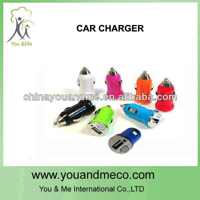 USB Data Charging 8pin Cable Car Charger Set for iPhone 5