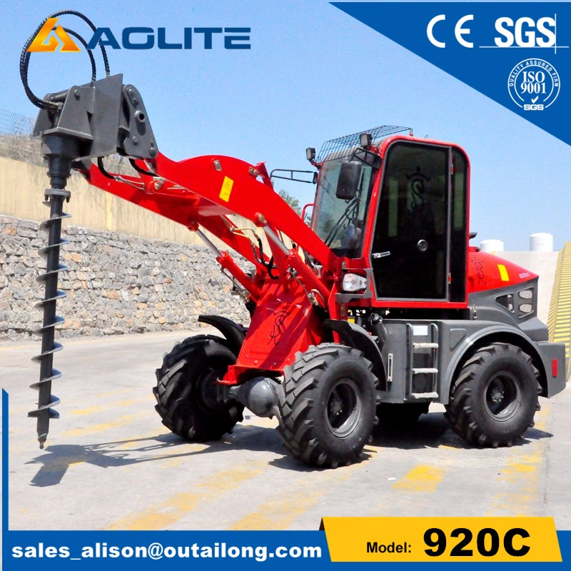 garden tractor with loader 1000kg rate load