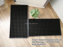 288 Cell Polystyrene Reusable Plastic Seedling Germination Tray, Plant Nursery Seed Cell Plug Tray Cheap Price