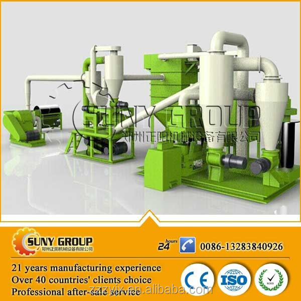 scrap computer processing printed circuit board waste pcb disposal plant