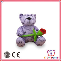 ICTI SEDEX factory cute custom wholesale plush stuffed teddy bear t-shirts