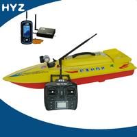 HYZ-80A fiberglass fishing finder RC bait boat hulls for sale