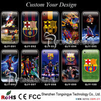 2013 Custom Football Case For Iphone 4,Hard Plastic Cell Phone Cases