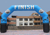 custom advertising inflatable standard archway with full color printing