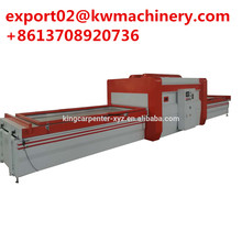 automatic veneer manufacturing woodworking machine furniture panel vacuum membrance wooden door pvc film press laminator