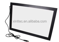 "27"" 2 points multi touch screen overlay kit, touch screen panel kits, usb touchscreen"