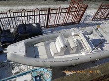 2017 6.8m military inflatable rib boat for sale