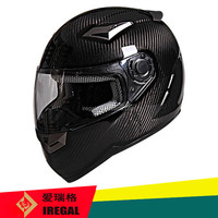 High grade carbon shell full face ece r22.05 approved helmet
