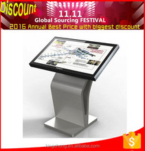 55inch interactive cant kiosk High reliability, good stability,