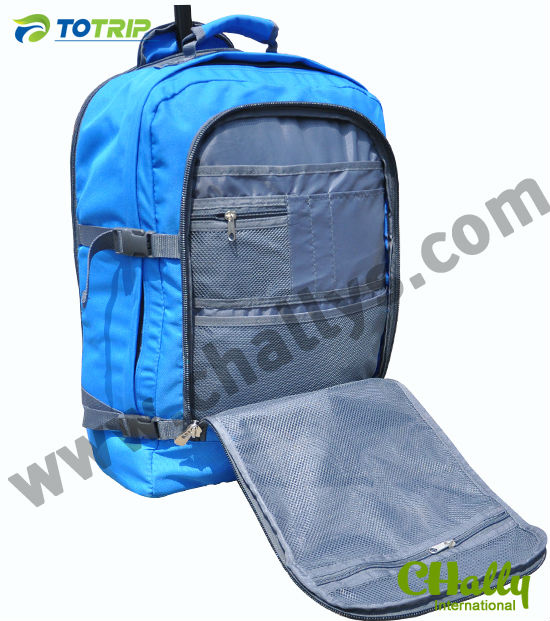 Travel Rolling tote with Laptop sleeve