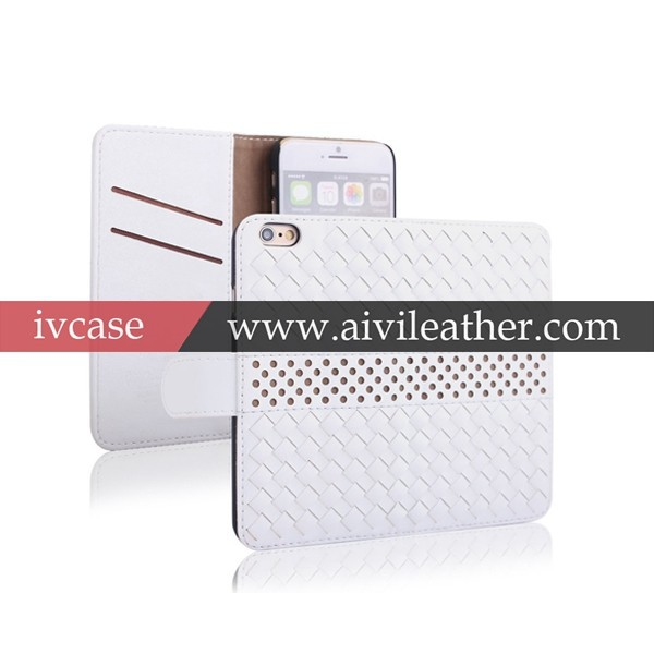 Leather wallet case For iPhone 5/5S &for iPhone 6, for iphone 5/5S & for iPhone 6 booklet leather case