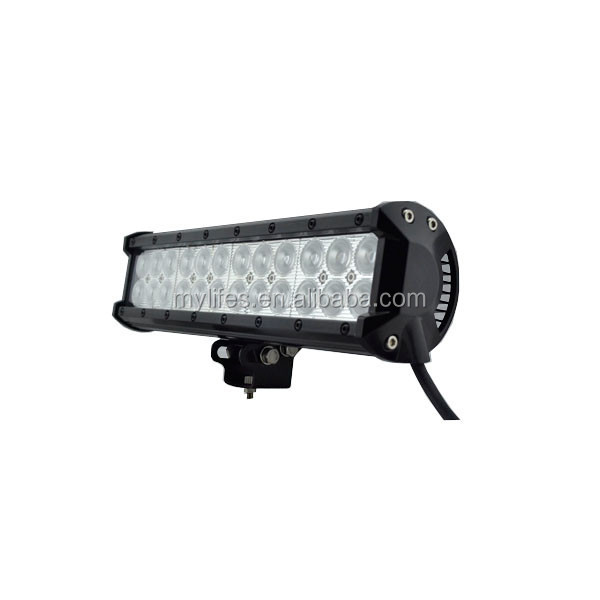 12inch 72W LED Light Bar Spot Flood Combo Beam Offroad Light 12V 24V LED Work Lamp For ATV SUV 4WD 4X4 Boating Hunting
