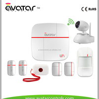 GSM Security Wireless Smart Security Alarm