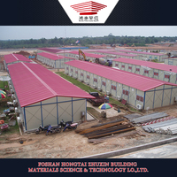 Light Steel Frame Moveable House Covered by Sandwich Panels