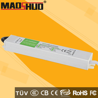 constant voltage IP67 dc12v 24w bit led driver with best ic high quality for led lighting