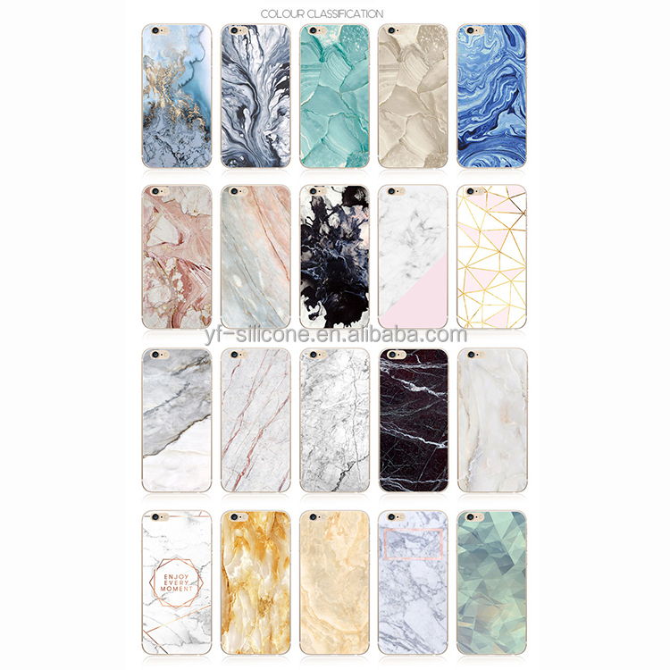 Soft TUP Marble Phone Case