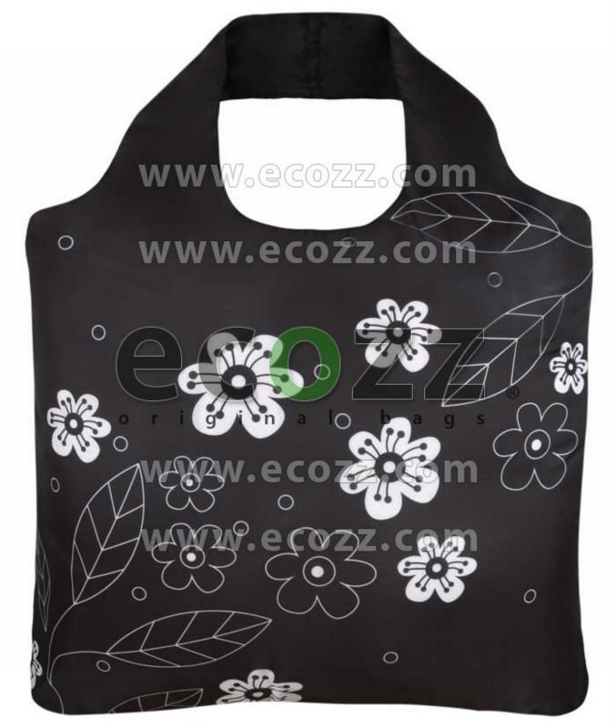 Reusable shopping bag ECOZZ Black & White 2