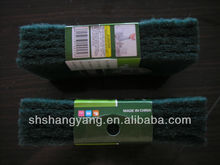 abrasive cleaning scouring pad dish wash sponge scouring pad