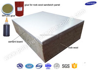 Adhesive glue for insulate glass wool