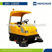 roller brush sweeping car , ride on sweeper,power broom cleaning road machines