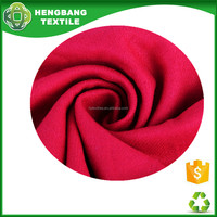 CVC recycled brushed fleece 65 cotton 35 polyester fabric yarn